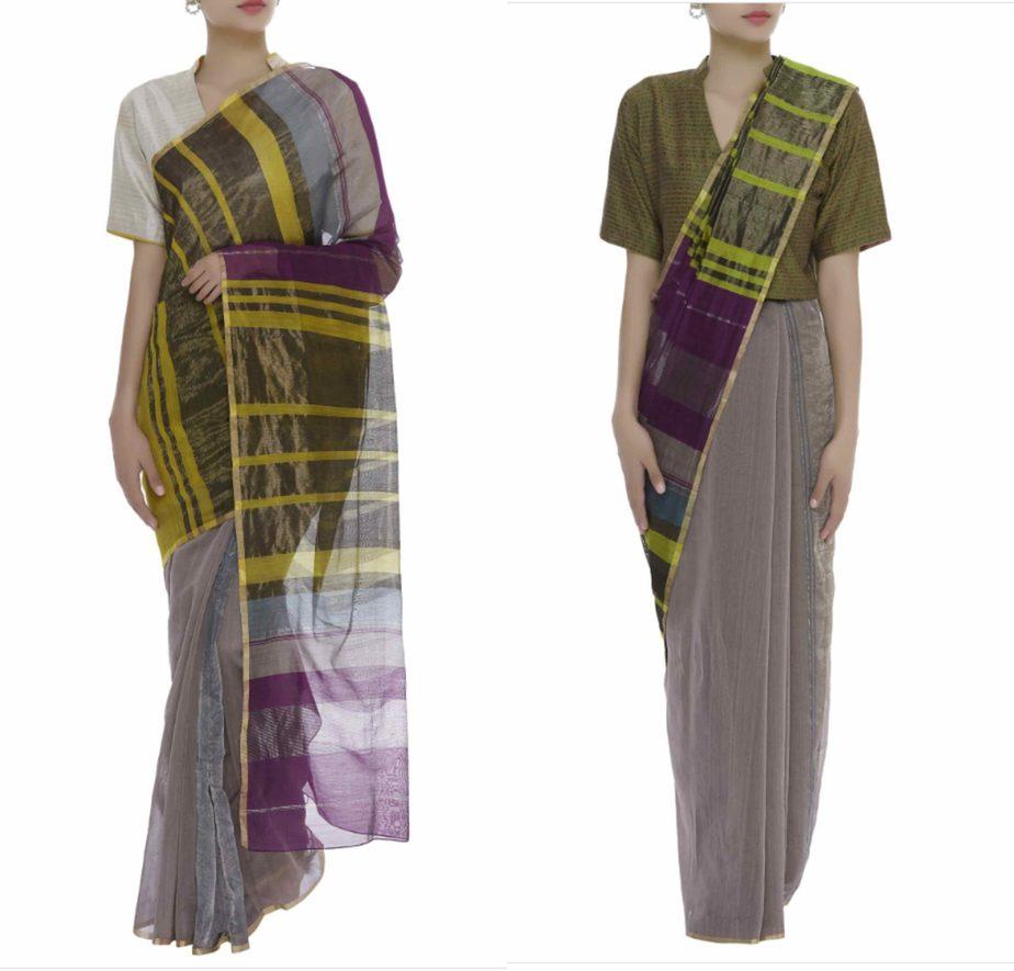 metallic silk sarees online (1)
