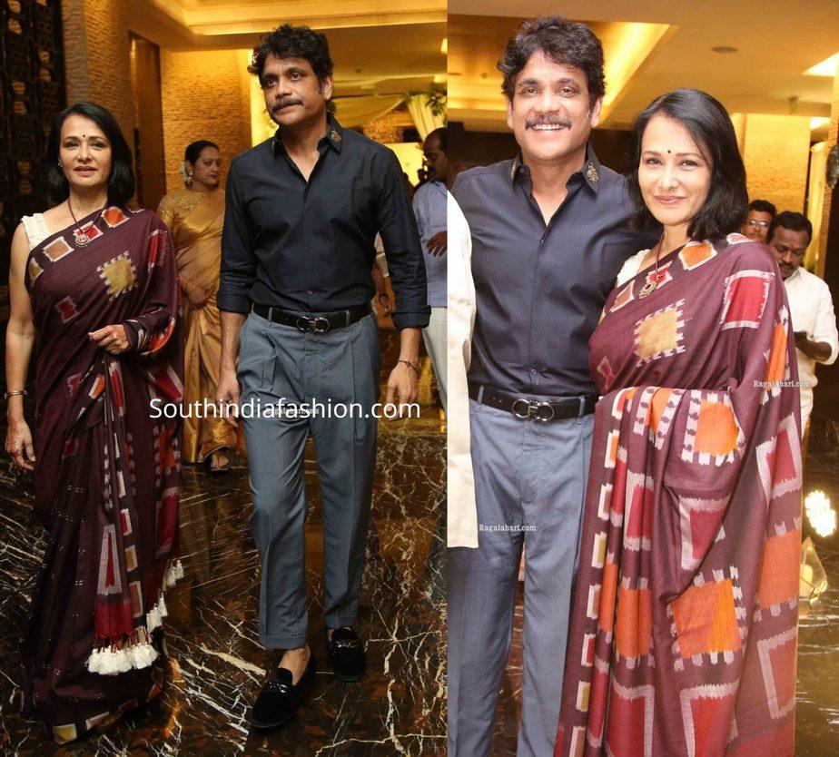 nagarjuna amala at jayasudha son wedding reception (1)