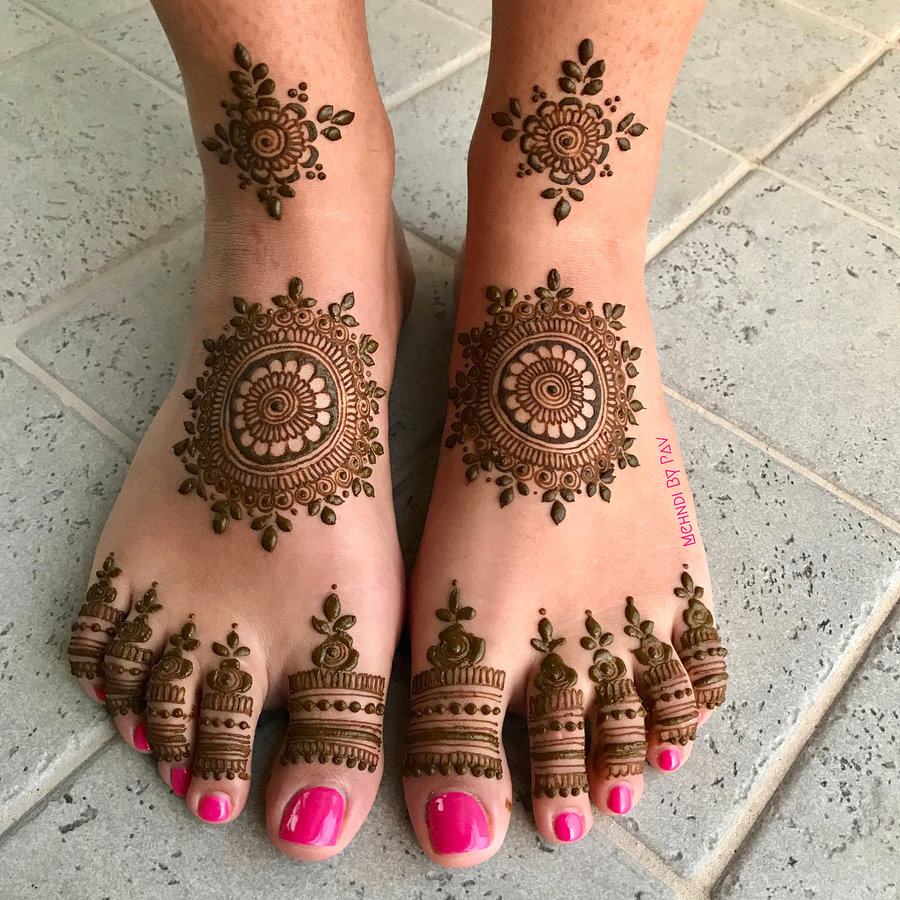 Leg Mehndi Designs For Brides | 2020 Henna Mehdni Designs For Feet