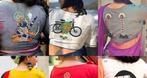 quirky blouse designs with fun embroidery