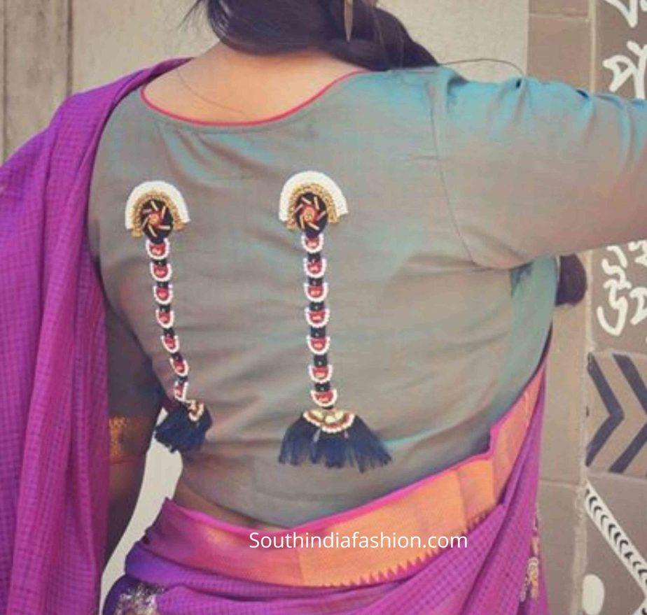 quirky sari blouse