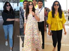 rashmika mandanna in casual wear at airport