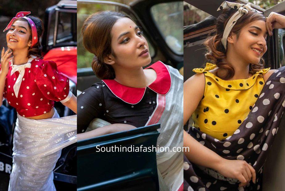 Vintage 70\u2019s Indian blouse top