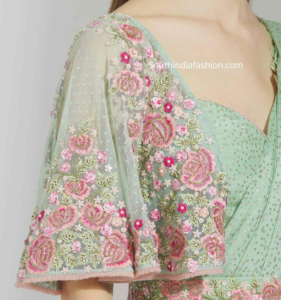 cape blouse designs for sarees (2)