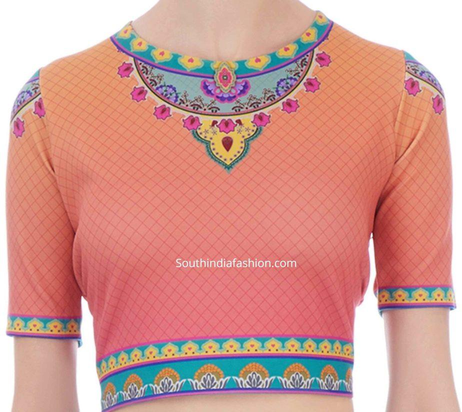 crop top blouse for saree (1)