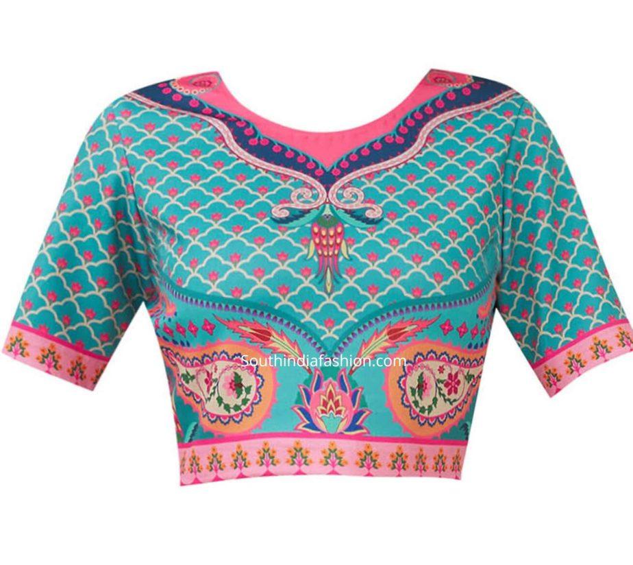 crop top blouse for saree (2)