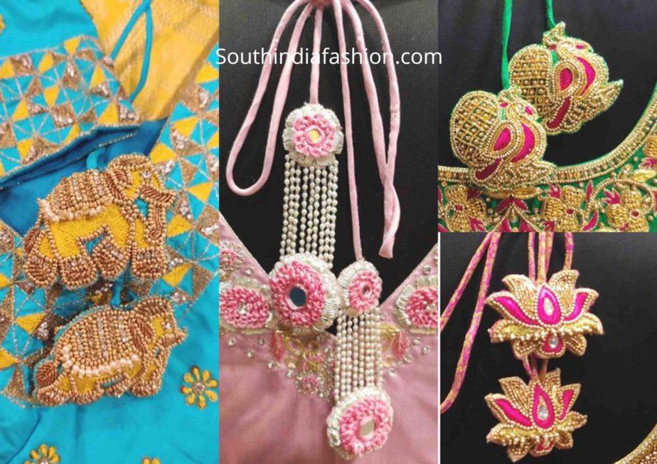 customized tassels for silk saree bridal blouse (1)