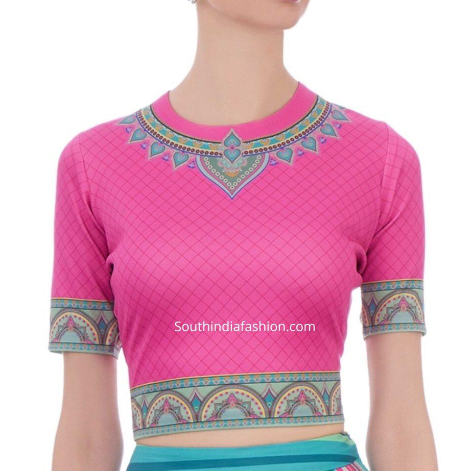 indian printed crop tops for sarees (1)