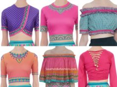 readymade crop top blouses online