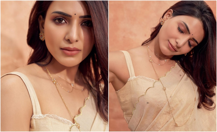 Samantha Akkineni saree style