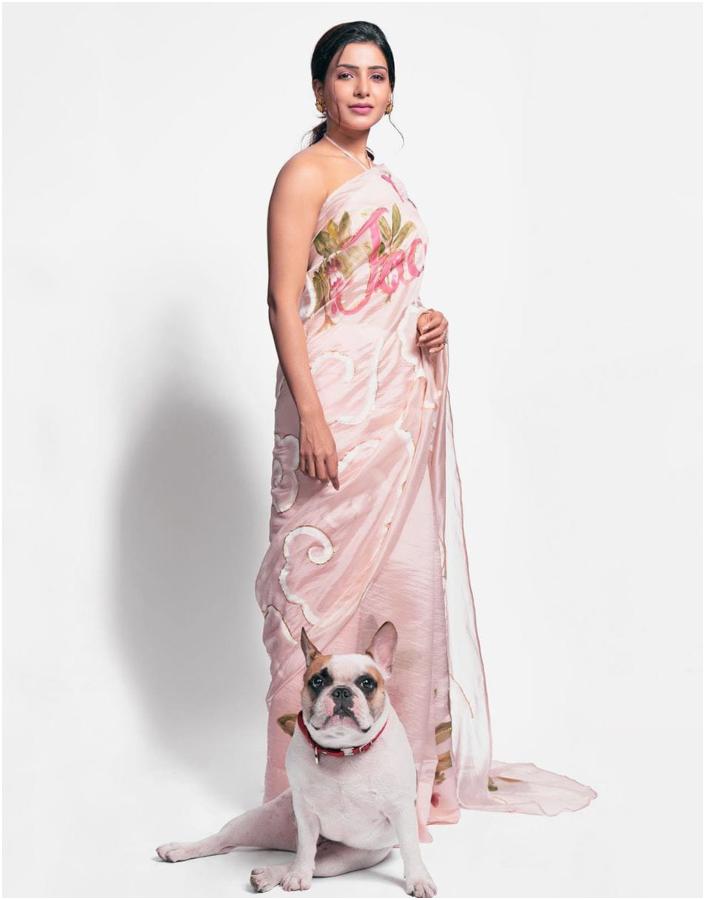 Samantha Akkineni stylish saree style
