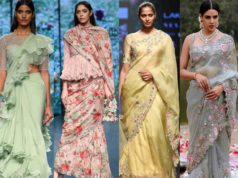 anushree reddy latest sarees collection