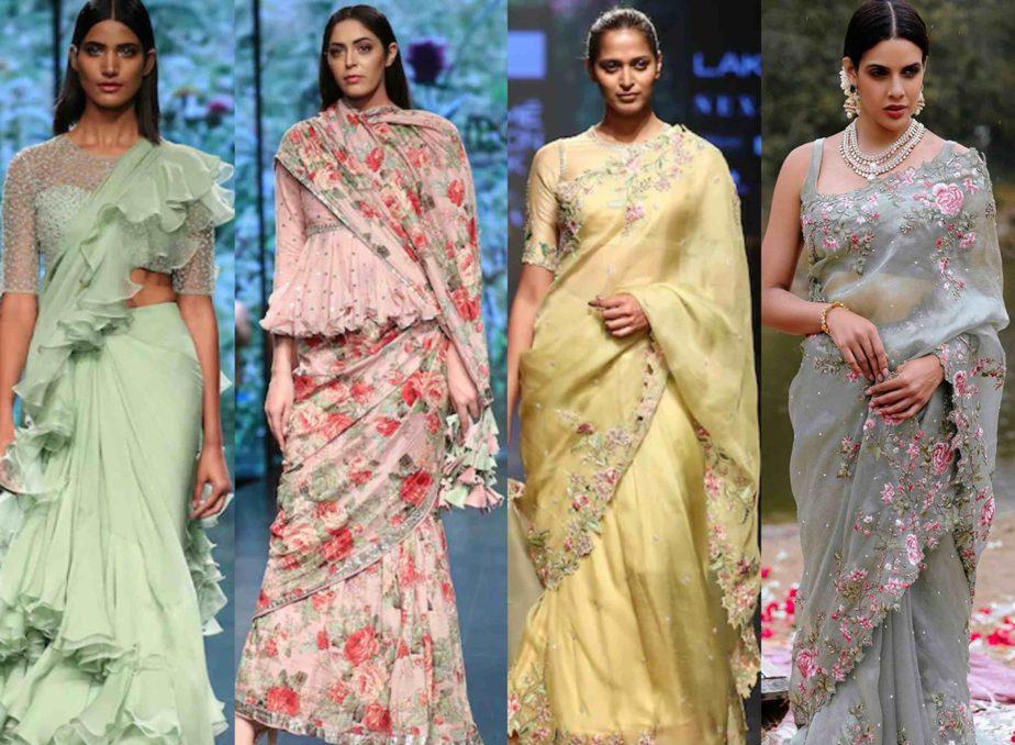 anushree reddy latest sarees collection