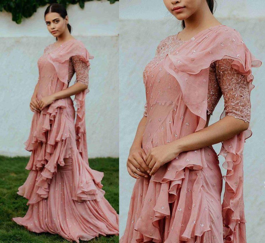 anushree reddy sarees collection