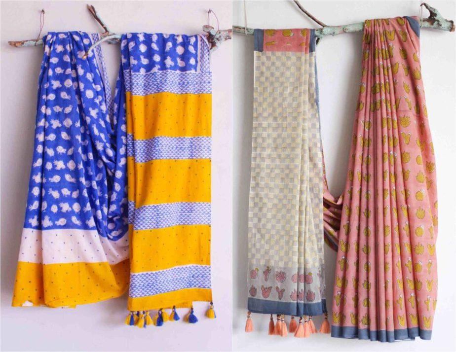 chhapa organic cotton sarees (2)
