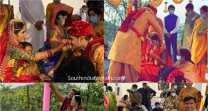 hero nikhil and pallavi varma wedding marriage photos (3)
