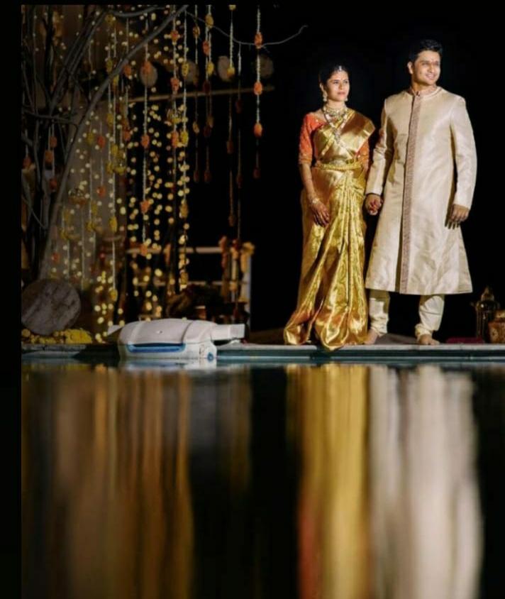 nikhil marriage photos