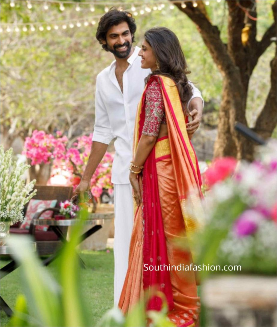 rana daggubati engagement photos
