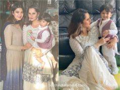 sania mirza eid celebrations photos