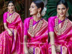 shilpa reddy pink kanjeevaram saree you magazine