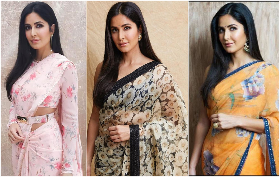Katrina Kaif's Style Diary Prove That She Is A Huge Fan OF Floral Outfits!