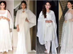An All-White Ethnic Wear like Celebrities