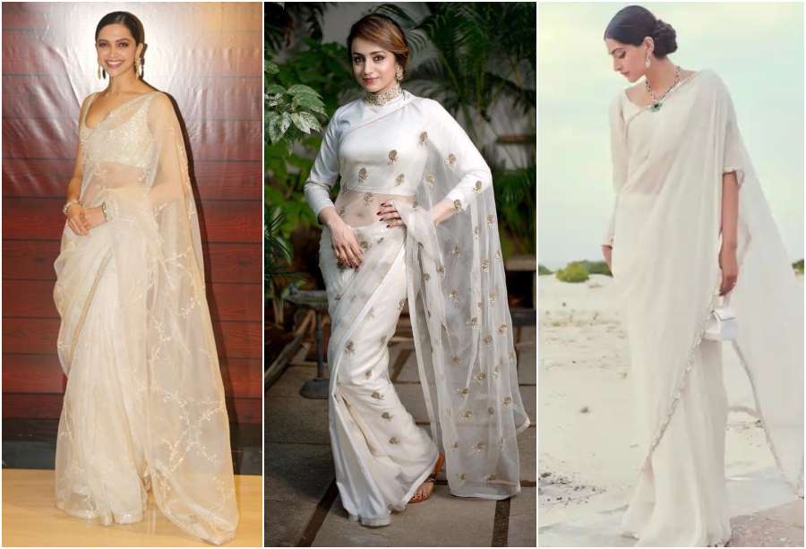 An All-White Ethnic Wear like Celebrities