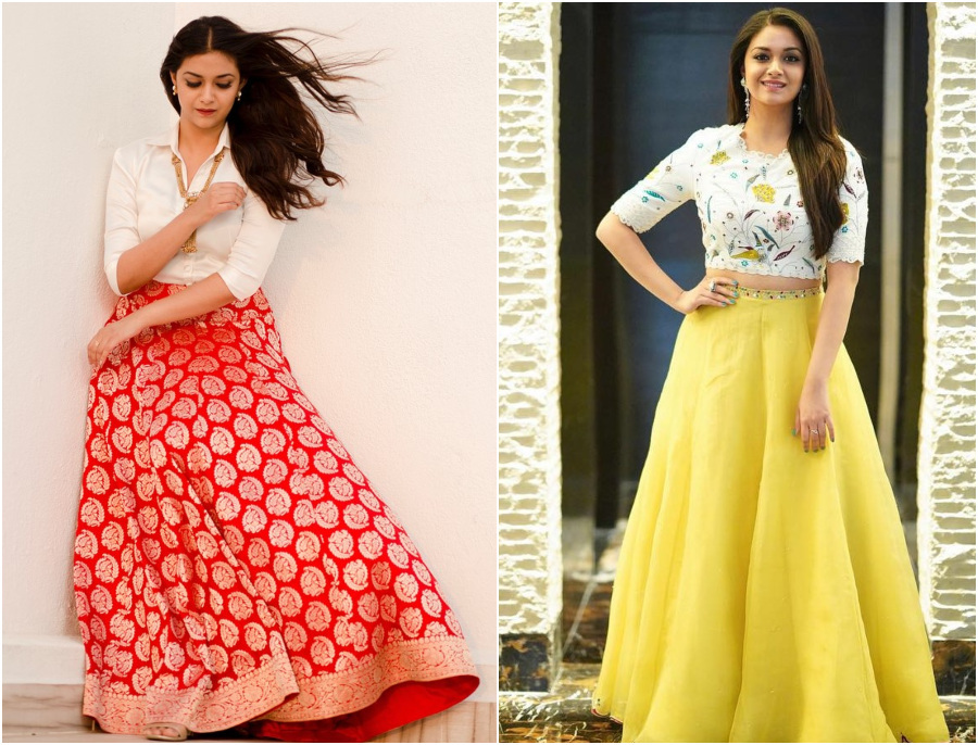 Chic To Ethnic: Keerthy Suresh Always Makes A Fashion Statement