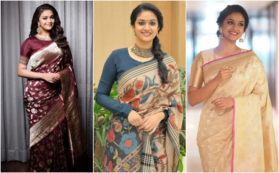Keerthy chic style