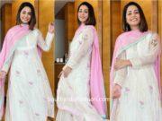 hina khan white palazzo suit (1)