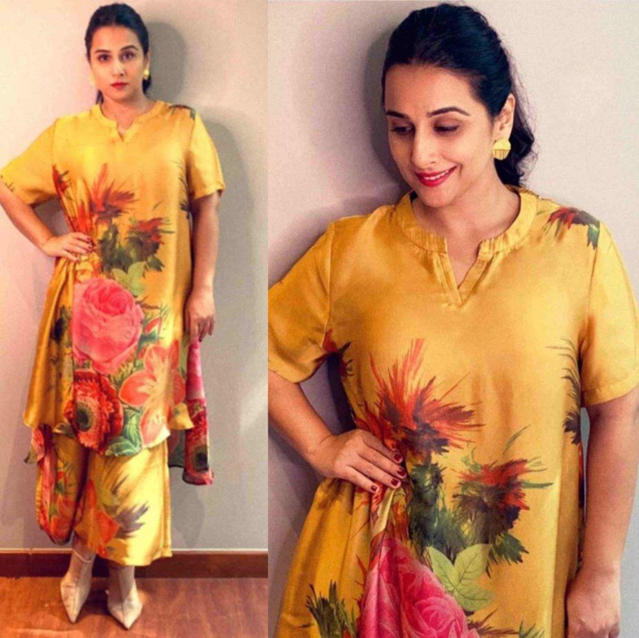 Vidya Balan in Ayush Kejriwal – South India Fashion