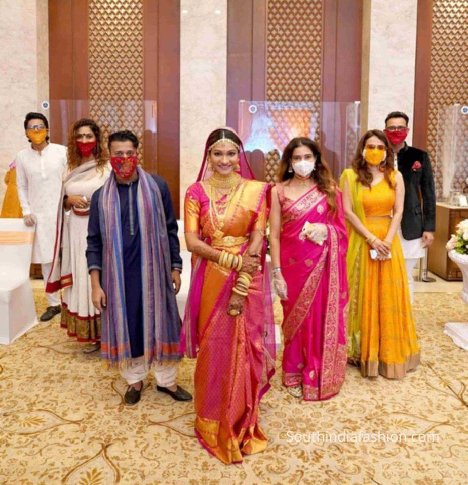 celebrity stylist eesha amiin wedding photos (1)