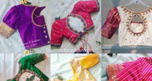 latest pattu saree blouse designs 2020