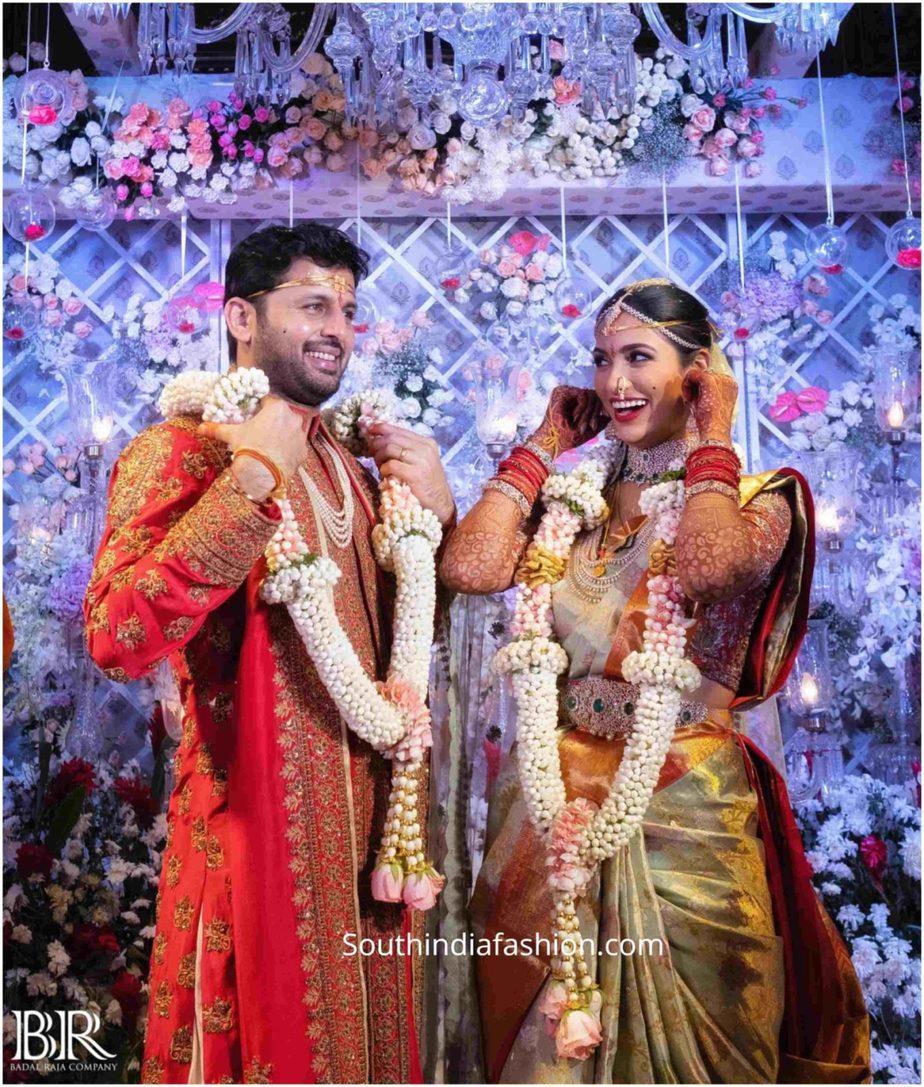 nithiin and shalini wedding