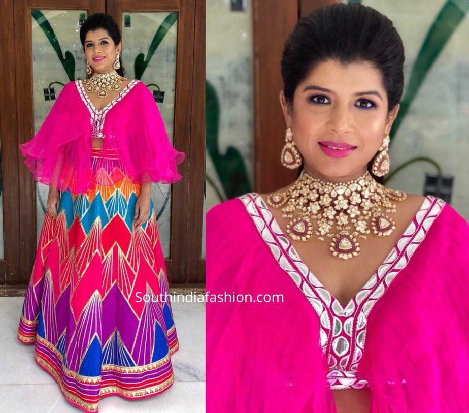 nithin sister nikitha reddy in pink dress