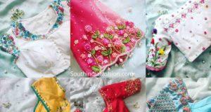 party wear saree blouse designs 2020 (4)