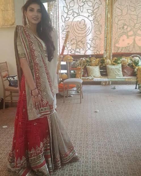 Miheeka Pre-wedding Ceremony Outfit
