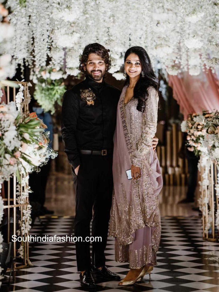 allu arjun and sneha reddy at niharika konidela engagement (4)