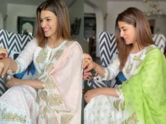 kriti sanon and nupur sanon in coordinating kurta sets rakhi
