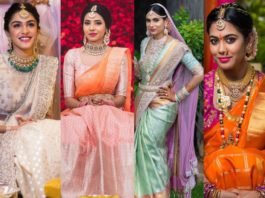 latest trends in wedding outfit colors
