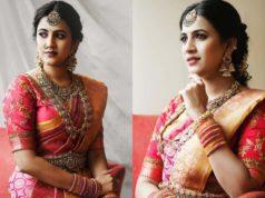 niharika konidela kanjeevaram saree engagement (2)