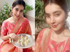 raashi khanna ganesh chaturthi celebrations (1)