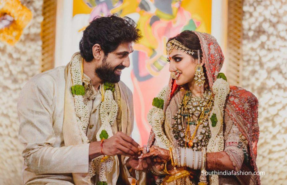 rana daggubati and miheeka wedding photos (5)