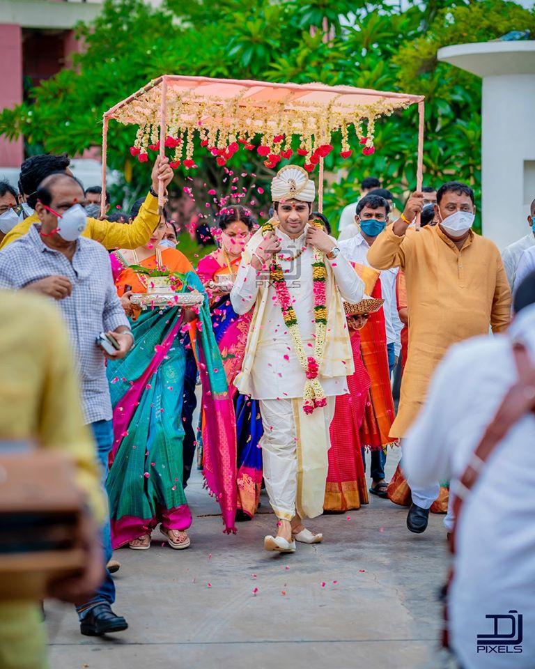 saaho director sujeeth pravallika wedding photos (2)