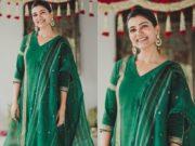 samantha akkineni in green salwar kameez