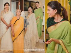 samantha akkineni in handloom saree (1)