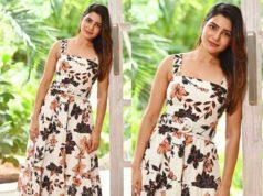 samantha akkineni maxi dress printed