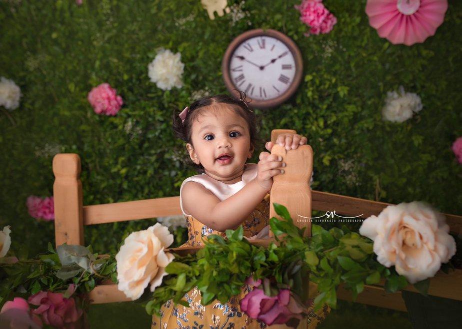 vishnu manchu viranica daughter ayra 1st birthday celebrations (1)