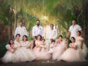 vishnu manchu viranica daughter ayra 1st birthday celebrations (2)