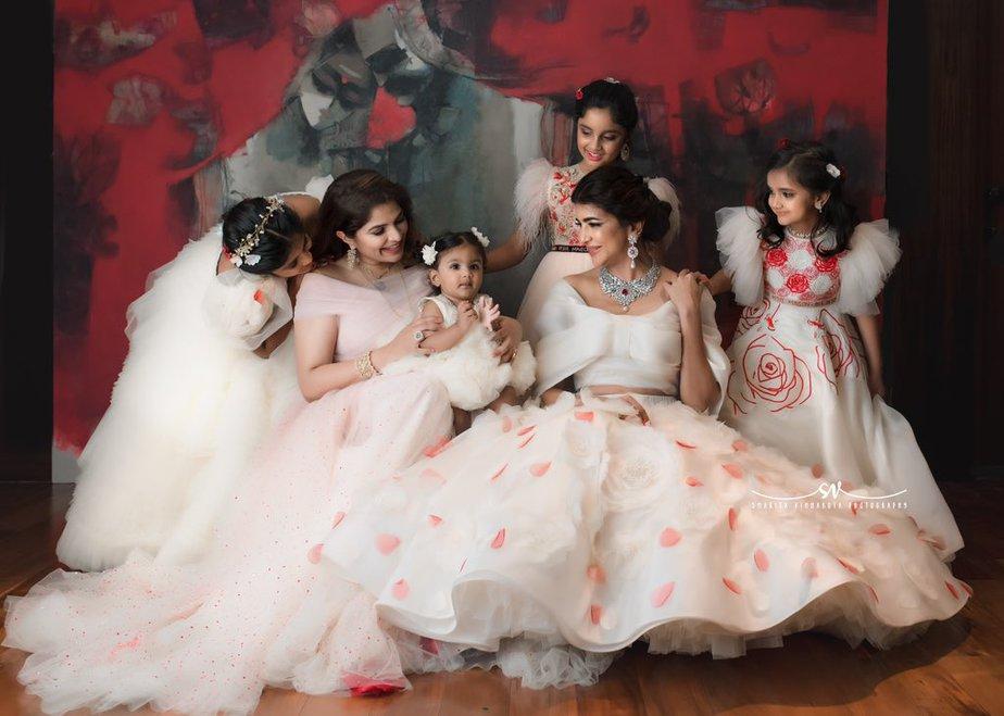 vishnu manchu viranica daughter ayra 1st birthday celebrations (2)